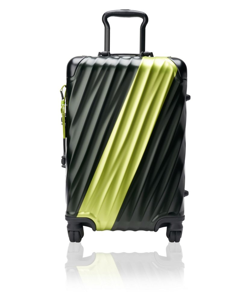 黑/亮柠檬黄国际旅行登机箱